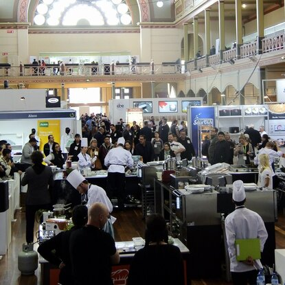 The Whisktakers FSA 2017 - Crowd at the Royal Exhibition Building